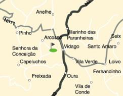 mapa vidago Regiões   Montanhas   Campos   Vidago   Localização do Campo mapa vidago